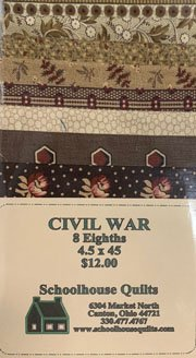 Fabric Strips 4 1/2 X 45 brown