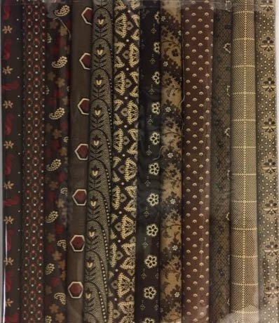 Fabric Packs 9 X 22  Brown