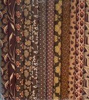 Fabric Sticks 9 X 22 Brown