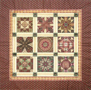 Cambridge Sampler Quilt 32 X 32