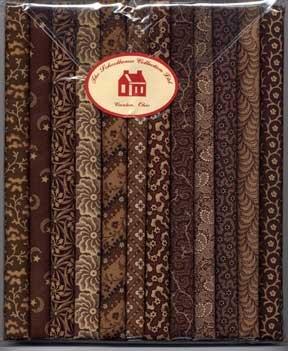 Fabric Packs 9 X 22  Brown