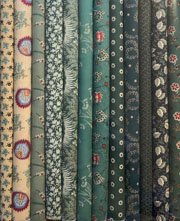 Fabric Packs 9 X 22 Green
