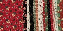 Heritage Red And Green Charm Squares