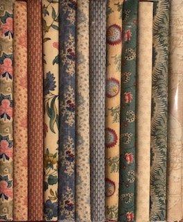Fabric Packs 9 X 22  Journey to America