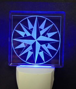 Mariners Compass LED