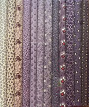 Fabric Packs 9 X 22 Purple