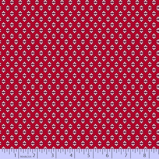 Aunt Grace Sew Charming 121 Red