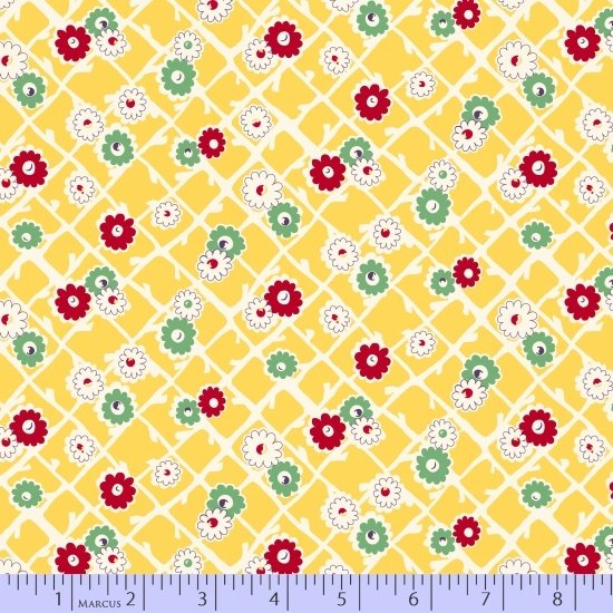Aunt Grace Sew Charming 124 Yellow