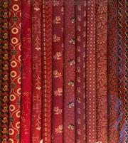 Fabric Packs 9 X 22  Red