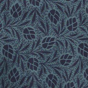 Renaissance Leaves blue