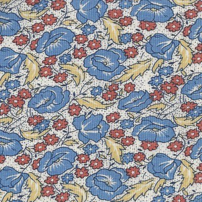 Aunt Grace Classics blue floral (fat quarters)