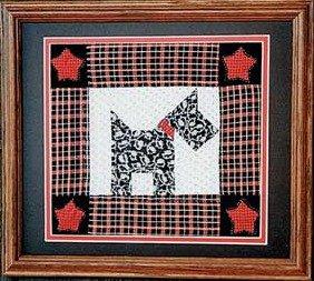 Scotty Dog Picture 8 X 8
