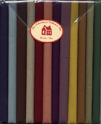 Fabric Packs 9 X 22 Solids