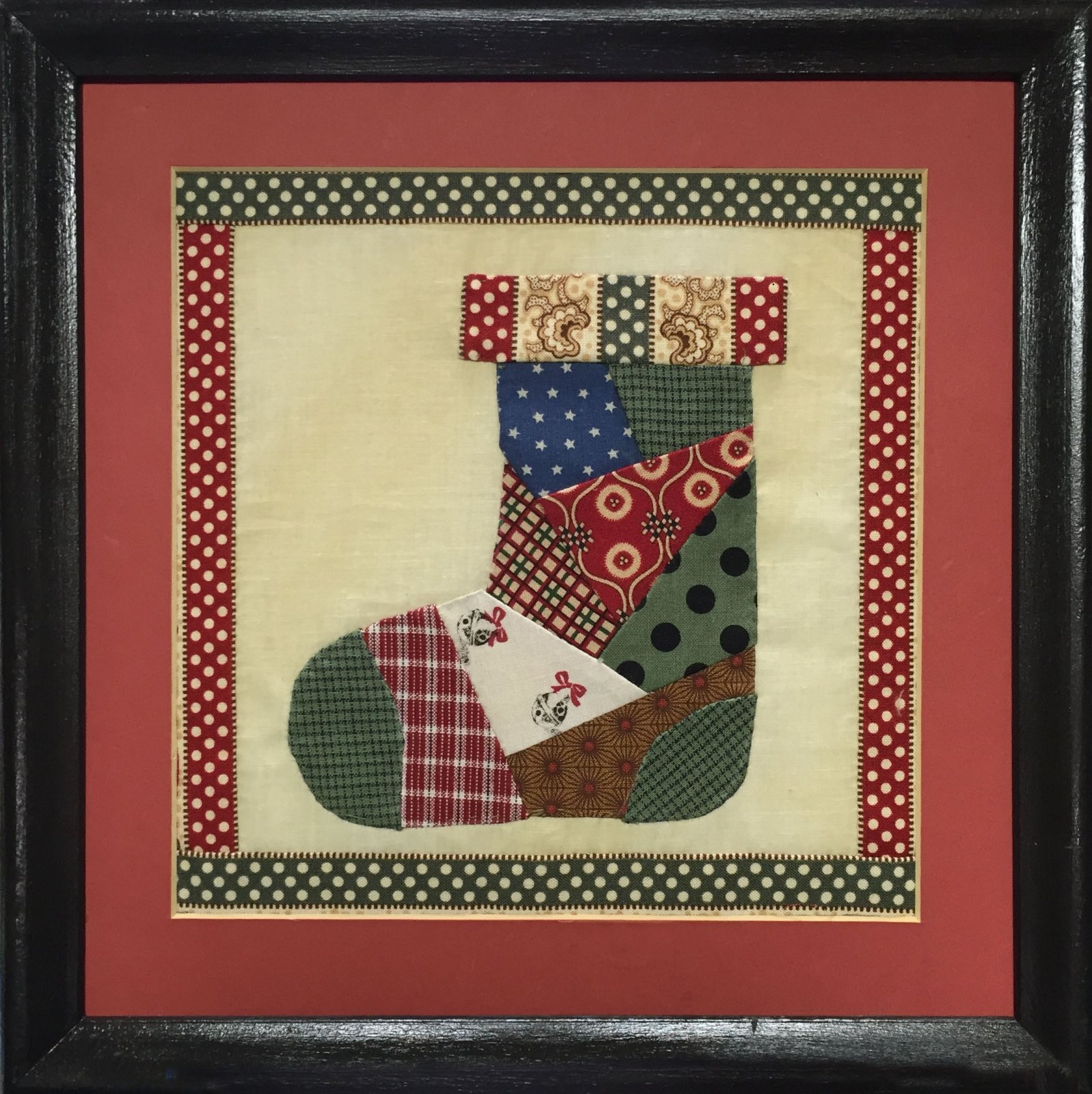 Christmas Stocking 8 X 8