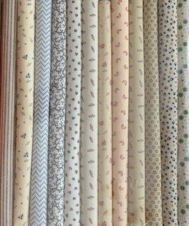 Fabric Packs 9 X 22  Shirtings