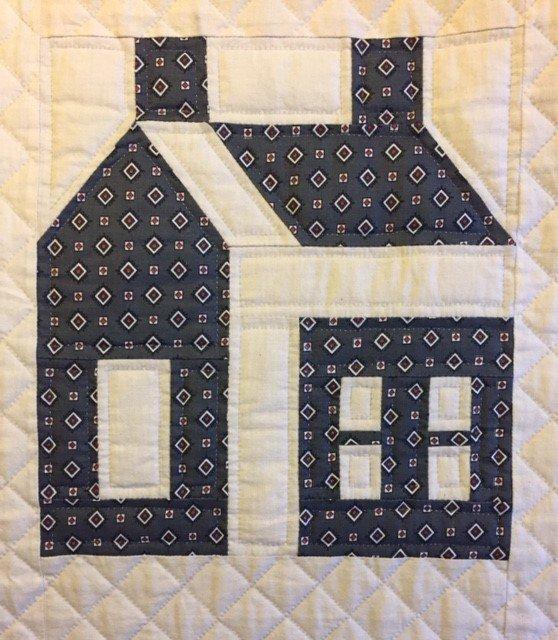 Schoolhouse Quilt Block 10 X 11