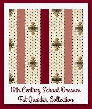 19th Century School Dresses fat quarter collection
