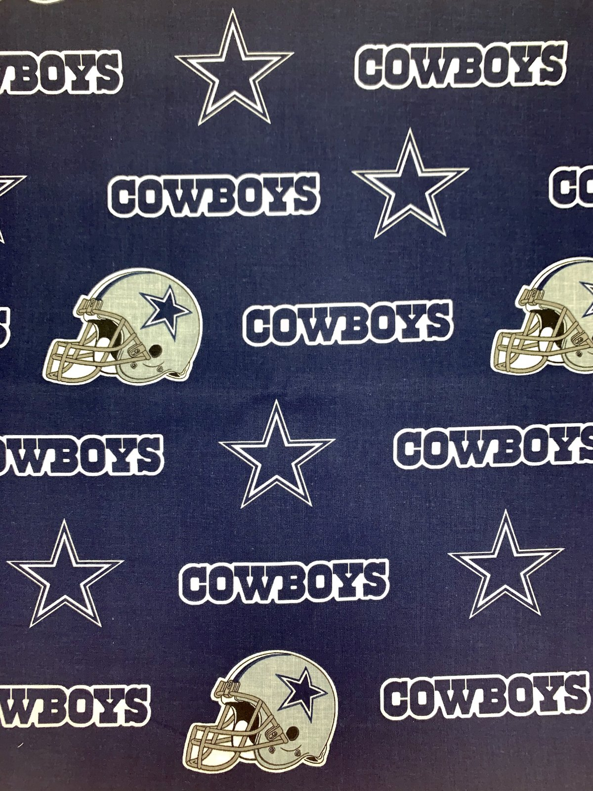 Dallas Cowboys Helmet and Star
