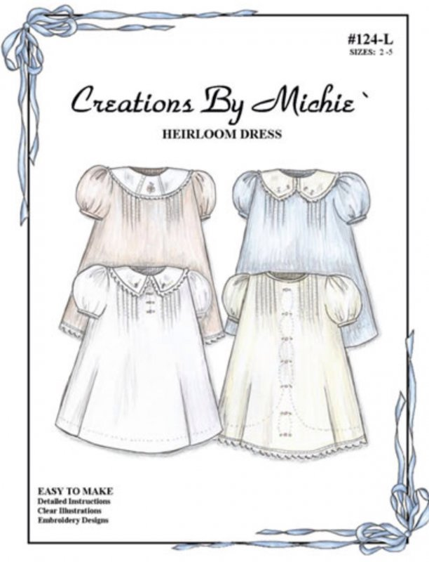 124-S Heirloom Dress Creations by Michie\' - 35242006244
