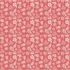 Dots & Posies Mini Fleurs Pink Fabric by Poppie Cotton