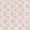 Dots & Posies Mini Fleurs White Fabric by Poppie Cotton