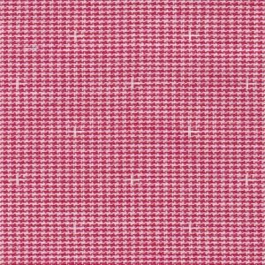 Dobby Red and White Fabric by Fabric Finders