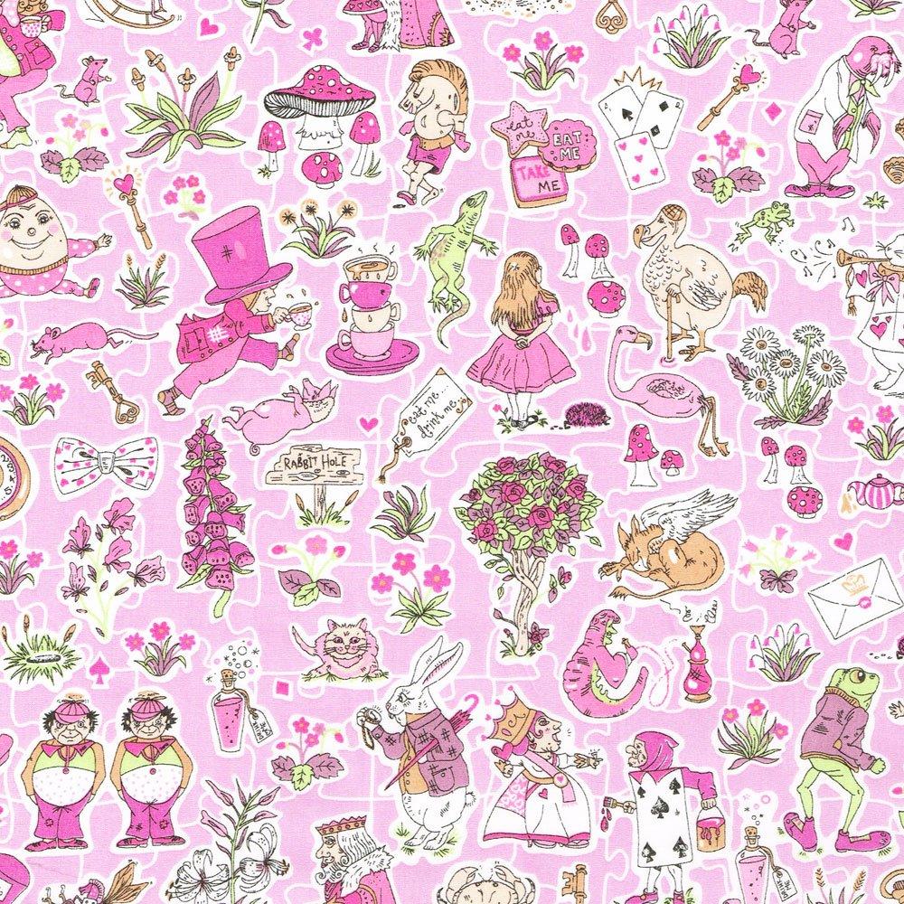 Gallymoggers Reynard Pink Liberty of London Tana Lawn Fabric