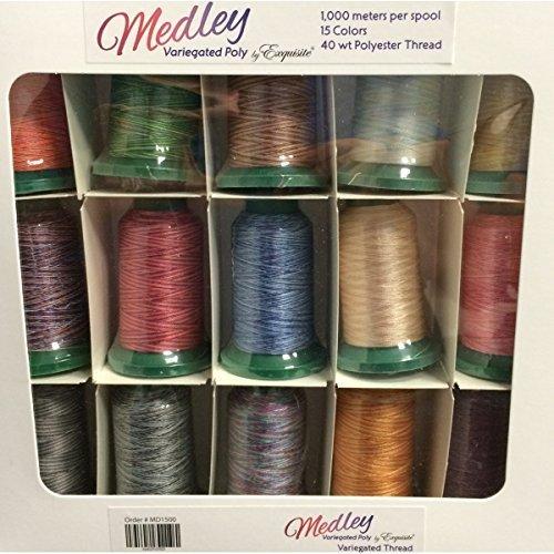 Medley Variegated Poly Thread
