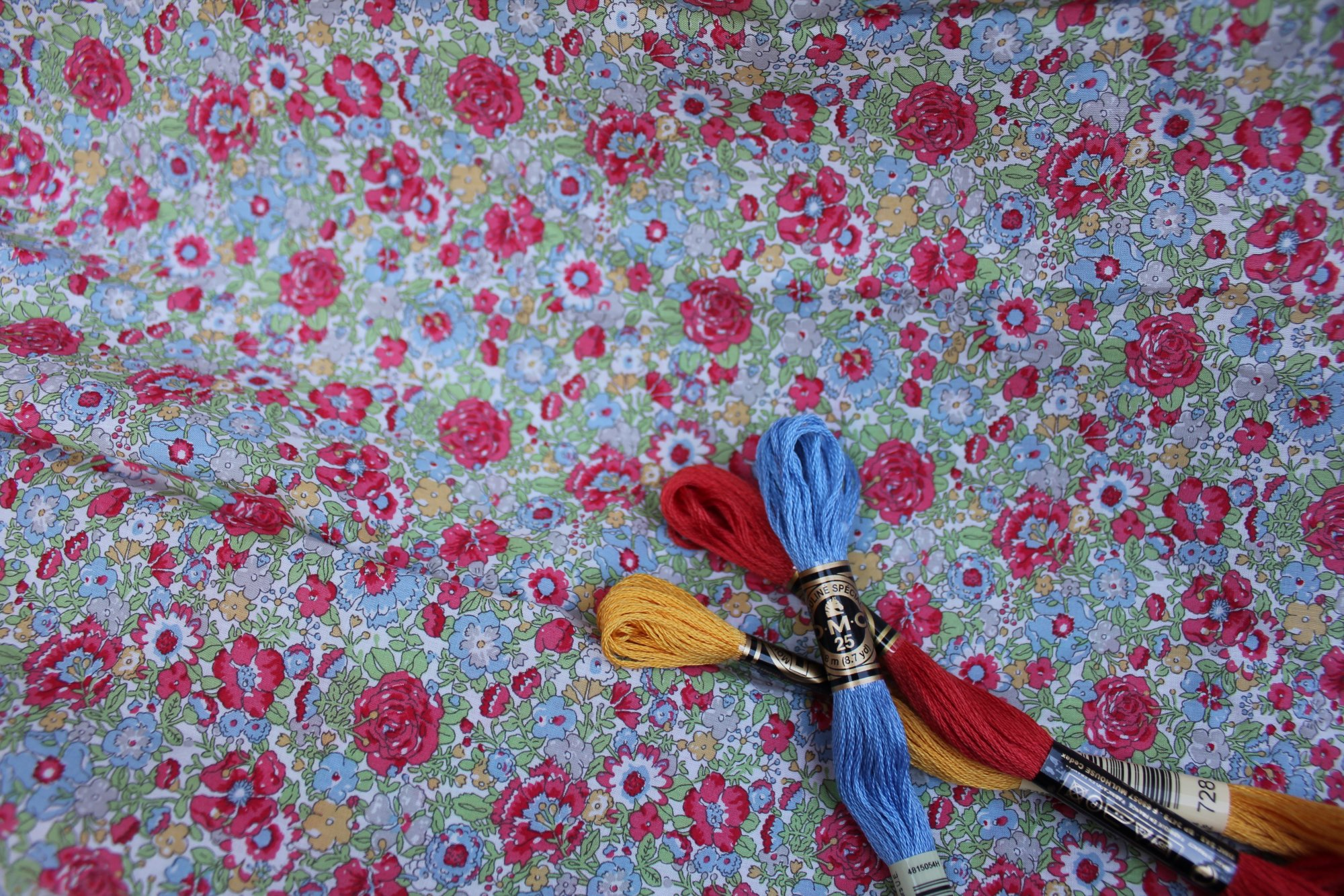 Bishop Kit in Amelie E Liberty of London Tana Lawn Fabric