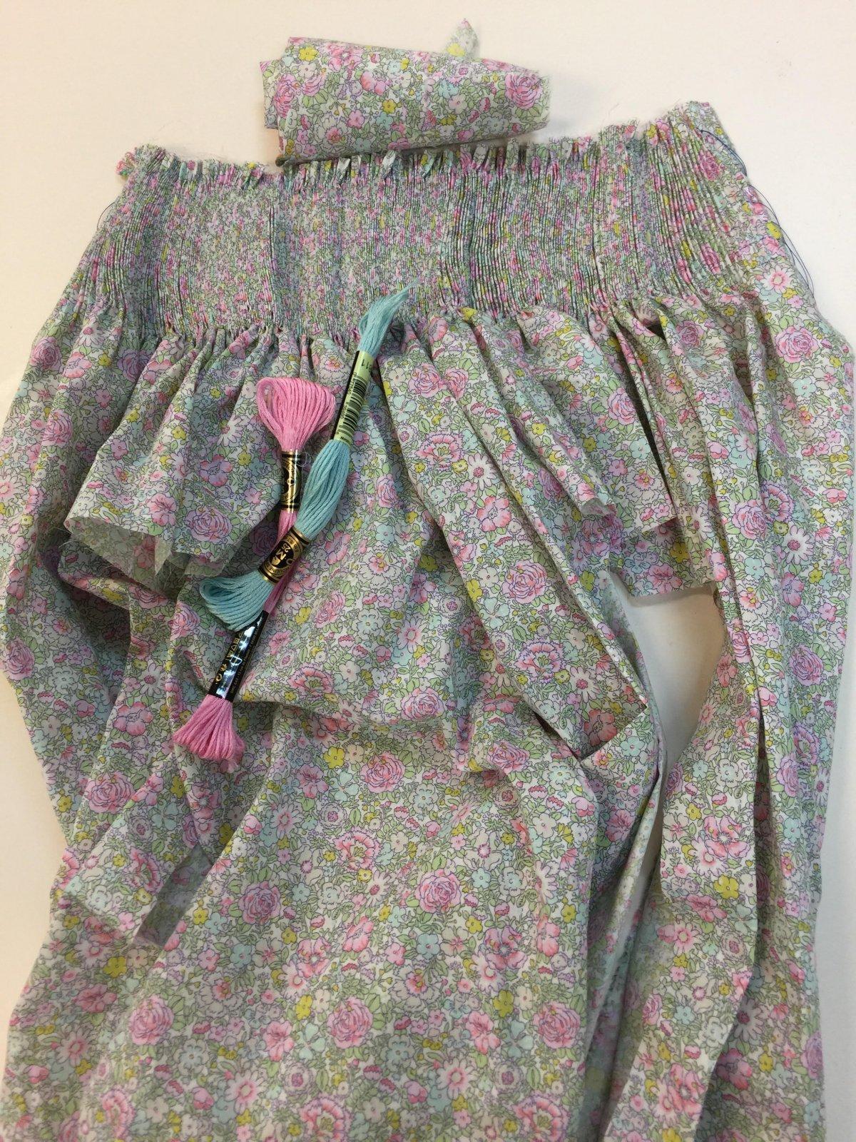 Bishop Kit, Short Sleeve, 18 mo Liberty Amelie C