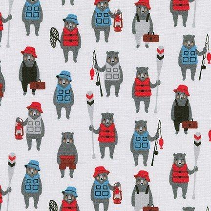 Andie's Minis Steel Fabric by Robert Kaufman
