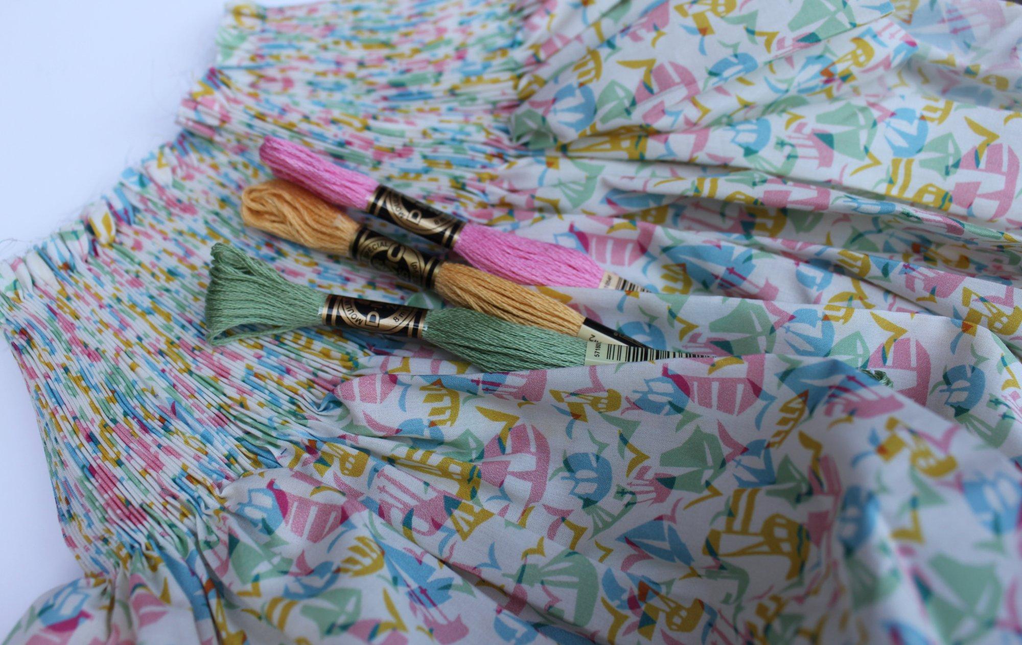 Bishop Kit in Set Sail B Liberty of London Tana Lawn Fabric