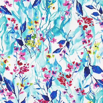 Bright Side Lawns Fabric - Breeze