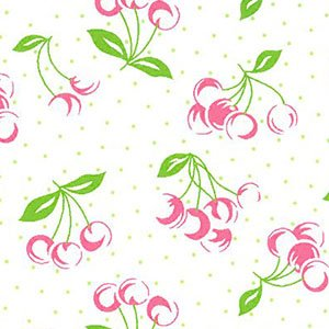 Cherry Print by Fabric Finders 2054