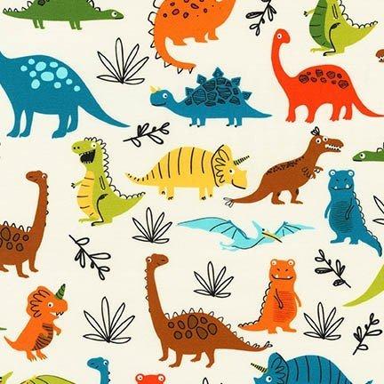 Dinoroar Bermuda Fabric