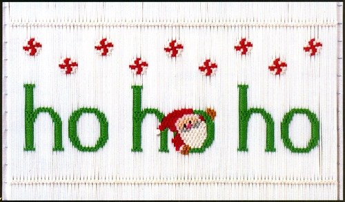 Ho Ho Ho Smocking Plate by Little Memories