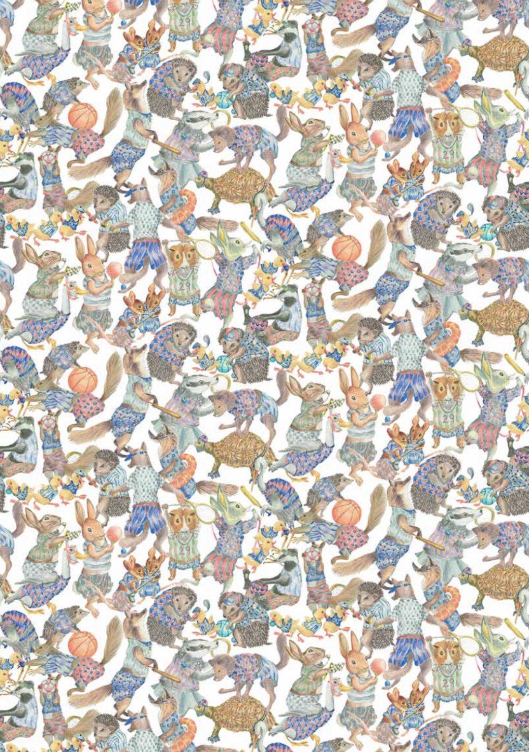 Hullabaloo A Liberty of London Tana Lawn Fabric
