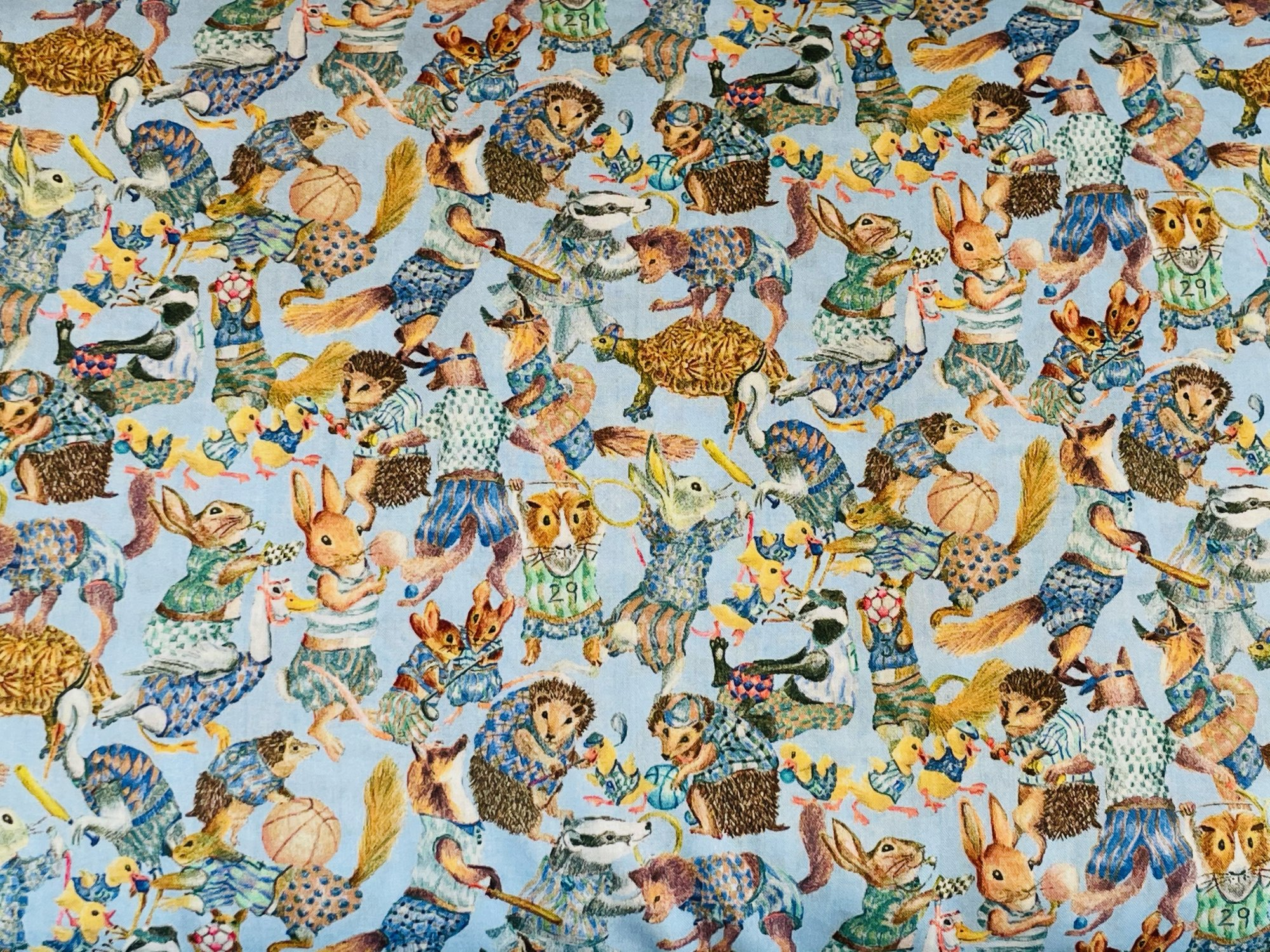Hullabaloo B Liberty of London Tana Lawn Fabric
