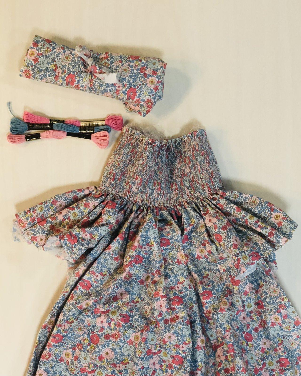 Bishop Kit Size 4 - Arley Gardens Flower Show Spring Liberty Floral Print Fabric