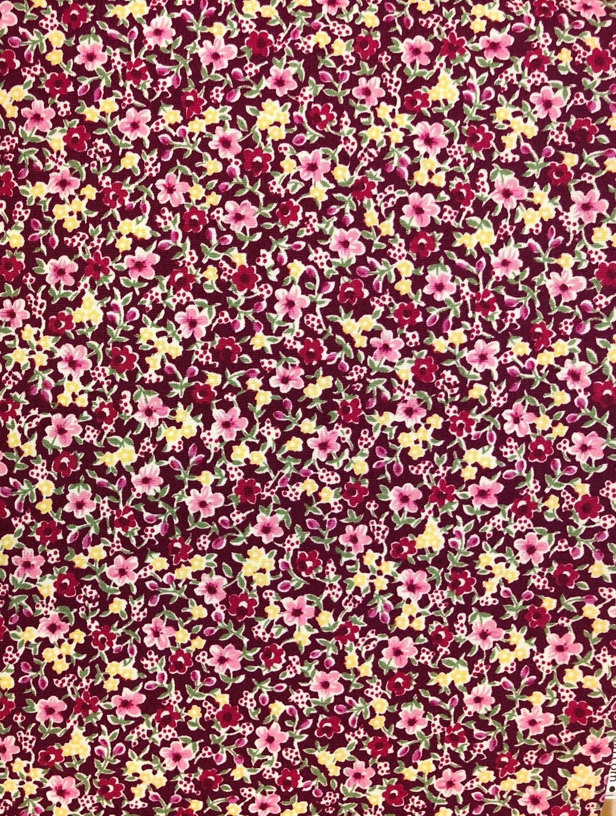 Fuchsia by Sevenberry Petite Garden Fabric