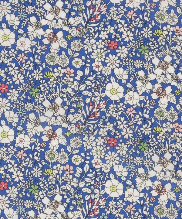 June's Meadow Dark Blue Liberty of London Tana Lawn Fabric