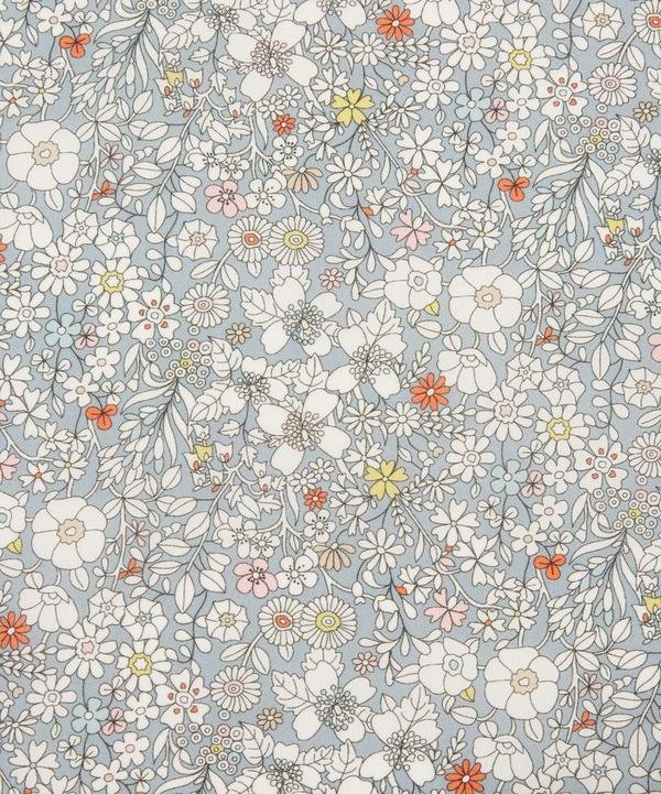 June's Meadow Grey Liberty of London Tana Lawn Fabric