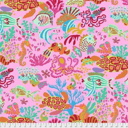 Kaffe Fassett Collective Scuba Pink Fabric