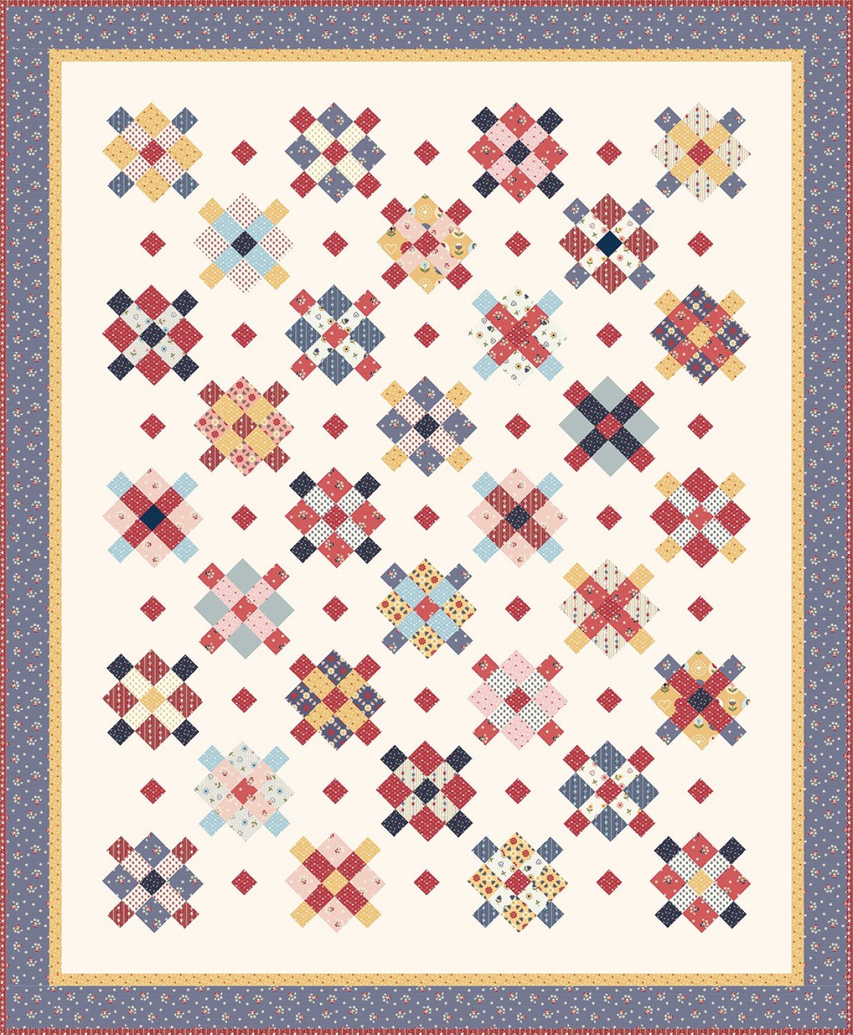 Fraulein Quilt Kit Riley Blake Designs by Amy Smart