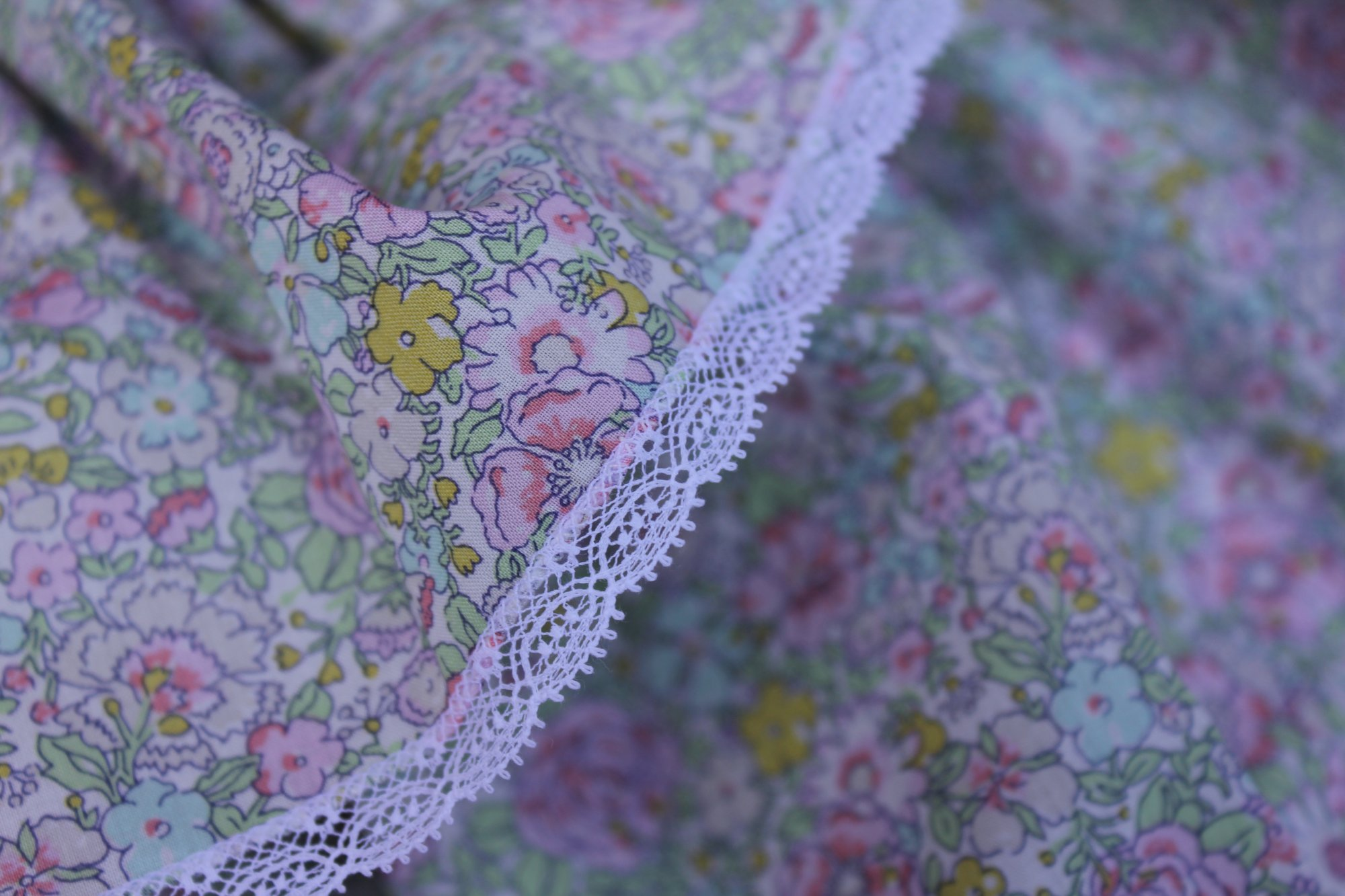Bishop Kit in Amelie C Liberty of London Tana Lawn Fabric