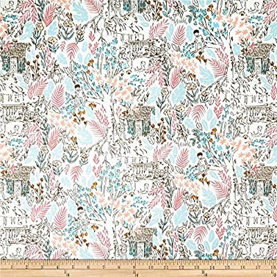 Peter Pan The Little House Fabric by Michael Miller