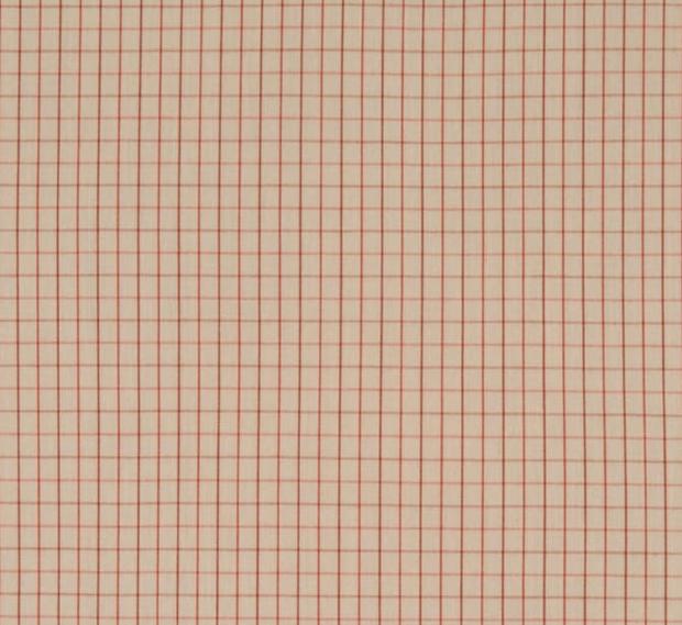 Peach Harriot Yarn Dyed Fabric by Robert Kaufman