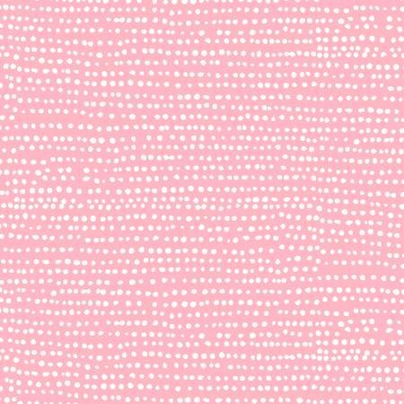 Pink Moonscape Knit Fabric by Dear Stella