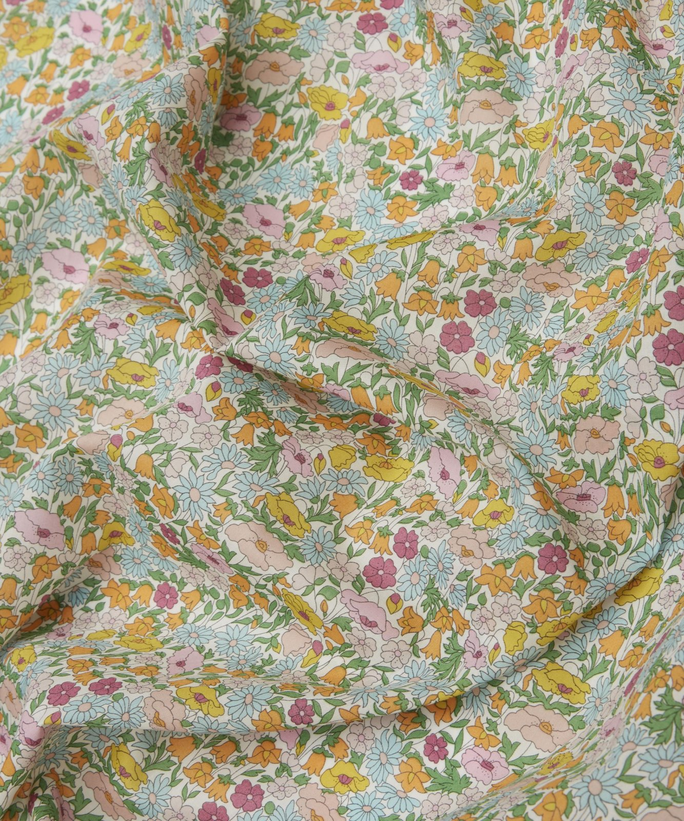 Poppy Forest A Liberty of London Tana Lawn Fabric