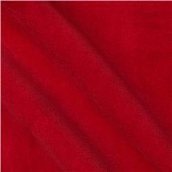 Flame Red Velveteen Fabric by SpechlerVogel